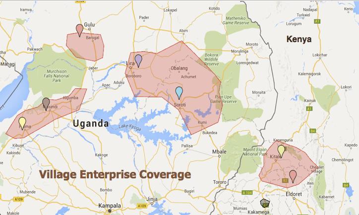 VE Coverage: Kenya and Uganda